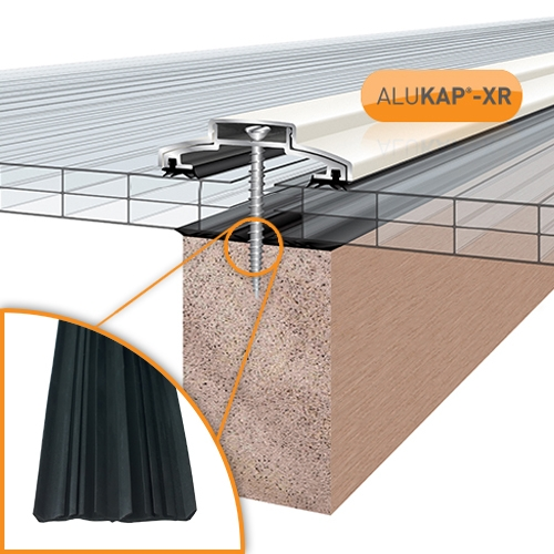 Aluminium Rafter Supported Glazing Bars