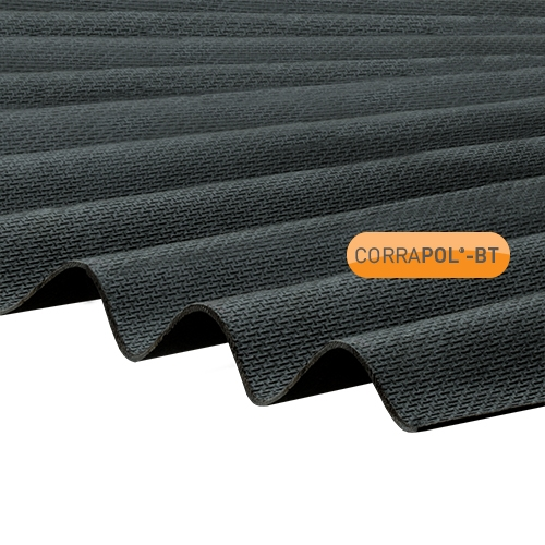 Corrugated Bitumen Sheets