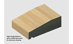 Standard Grade Redwood Cill Ex 50 x 150mm