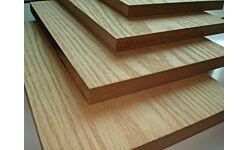MDF Veneered Oak 2 Sides 19x2440x1220mm
