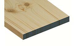 Standard Grade Redwood Planed Timber Ex 25 x 225mm