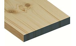 Standard Grade Redwood Planed Timber Ex 32 x 225mm