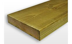Eased Edge C24 Treated Timber Carcassing Ex 47 x 150mm