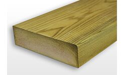 Eased Edge C24 Treated Timber Carcassing Ex 47 x 125mm