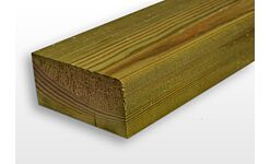 Eased Edge C24 Treated Timber Carcassing Ex 47 x 100mm