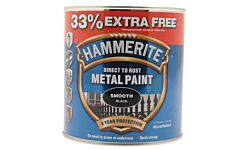 HAMMERITE METAL PAINT SMOOTH BLACK 2.5L