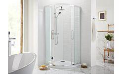 Cara 800mm quadrant shower enclosure