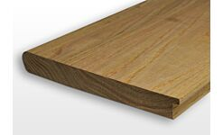 Oak Nosed and Tongued Windowboard 32mm x 225mm