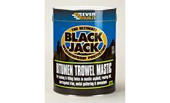 Everbuild 903 Bitumen Trowel Mastic 5Lt