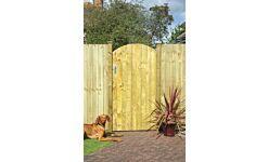 Arched Feather Edge Gate 1.85m