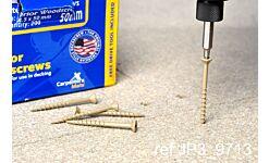 Carpenters Mate 63mm Hardwood Decking Finishing Screw (200)
