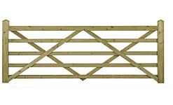 FOR10 CHARLTON FORESTER (Universal Hang) 10ft Wide 5 BAR GATE   (3000 x 1090mm) PEFC