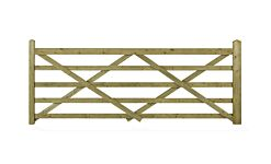 FOR3  CHARLTON FORESTER (Universal Hang)   3 ft Wide 5 BAR GATE     (915 x 1090mm) PEFC
