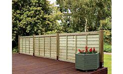 Grange Professional Overlap Fence Panel 1830 x 900mm (6' x 3')