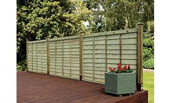 Grange Professional Overlap Fence Panel 1830 x 1200mm (6' x 4')