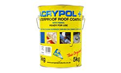 ACRYPOL Roof Coating (with fibers)  - 5kg Grey
