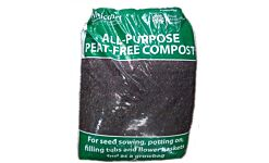 Melcourt All-Purpose Peat Free Compost - 50L Polythene bag