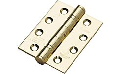 Eclipse Stainless Steel Ball Bearing Hinge 102x76mm CE Grade 13 Brass Plated Stainless Steel PREPACK