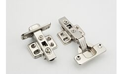Eclipse Clip On Cabinet Hinge 35mm 90 Degree 2pk Nickel Plate