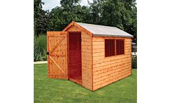 Norfolk Apex Shed Single Door T&G Treated 1.8 X 1.2M  (Home Delivery)