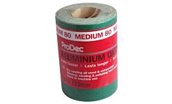PAALV80 CRAFTSMAN GREEN ALI OXIDE - 5m ROLLS 80 GRIT