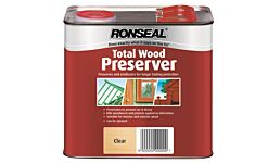 Ronseal Total Wood Preserver Clear 2.5 Litres