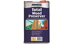 Ronseal Total Wood Preserver Clear 5 Litres