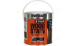 RONSEAL 5 YR WOODSTAIN EBONY (2.5L)
