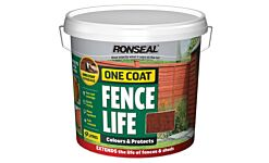Ronseal One Coat Fencelife Red Cedar 4L + 25% FREE