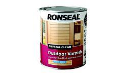 Ronseal Crystal clear outdoor varnish 2.5ltr satin