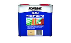 Ronseal Total Wood Preserver - Clear 2.5L