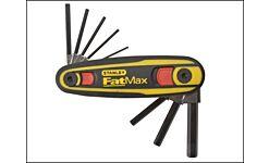 STANLEY FATMAX LOCKING HEX KEY SET 1.5MM - 8MM