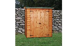 Wallshed Lean-To Shed T&G Treated 1.8 X 0.76M Double Door (Home Delivery)