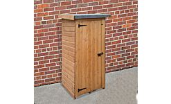 Wallshed Lean-To Shed T&G Treated  0.9 X 0.76M Single Door   (Home Delivery)